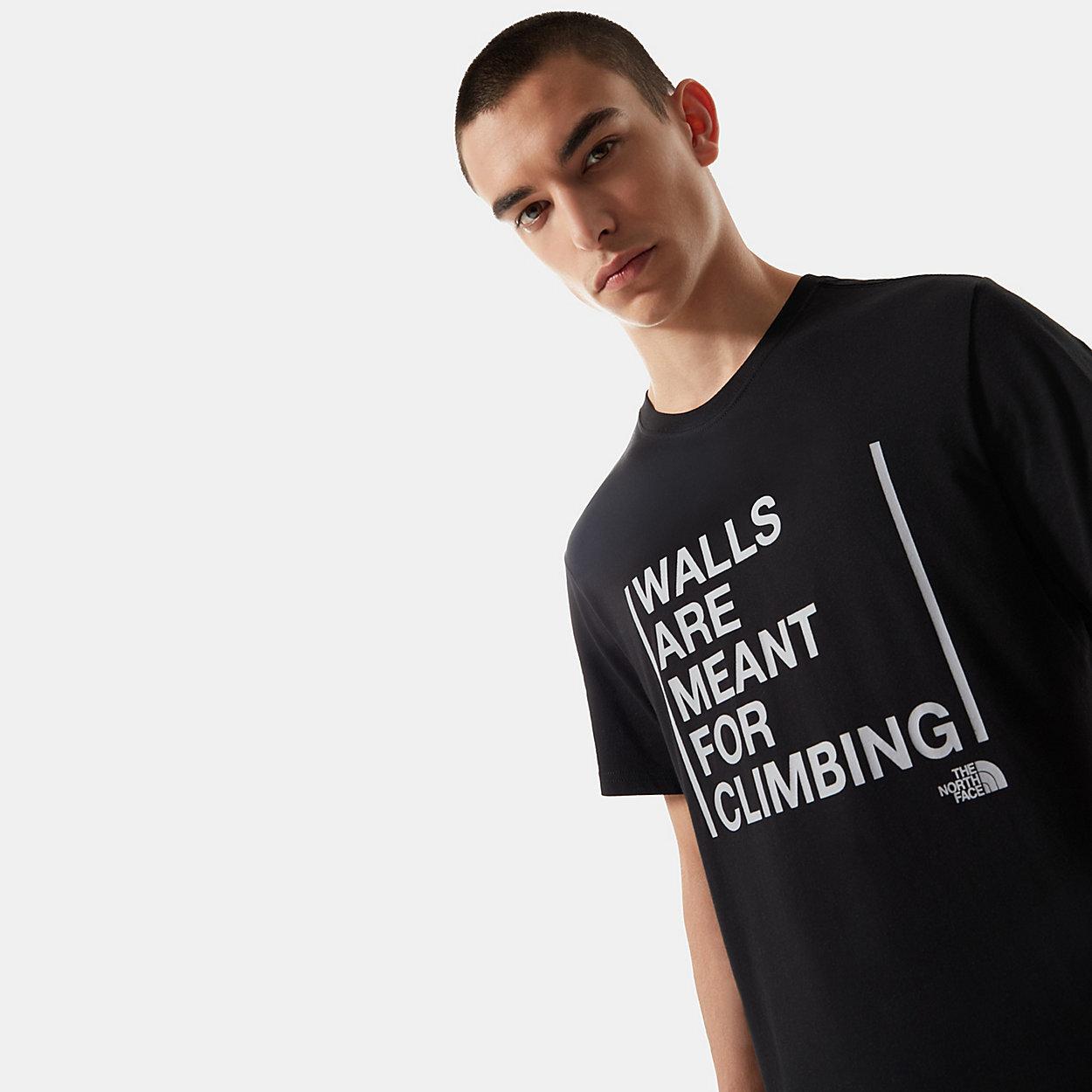 ERKEK WALLS ARE FOR CLIMBING TİŞÖRT